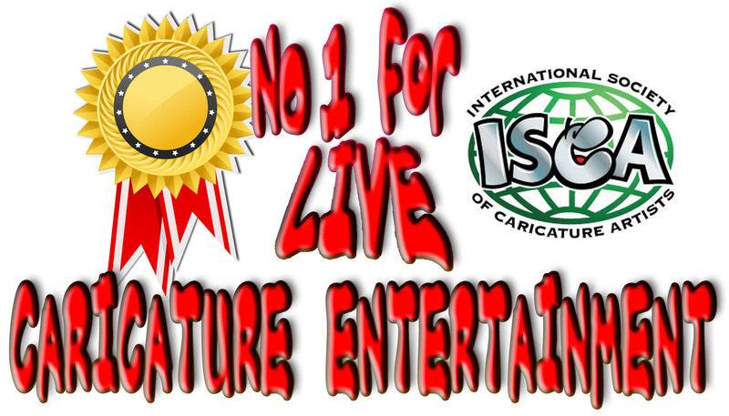No1 for live caricature entertainment