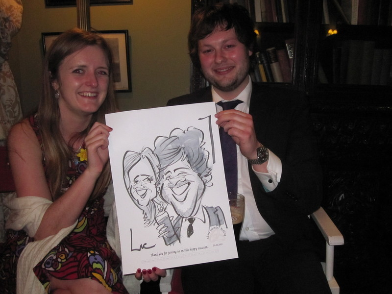 Live Caricature,Castle Leslie 1