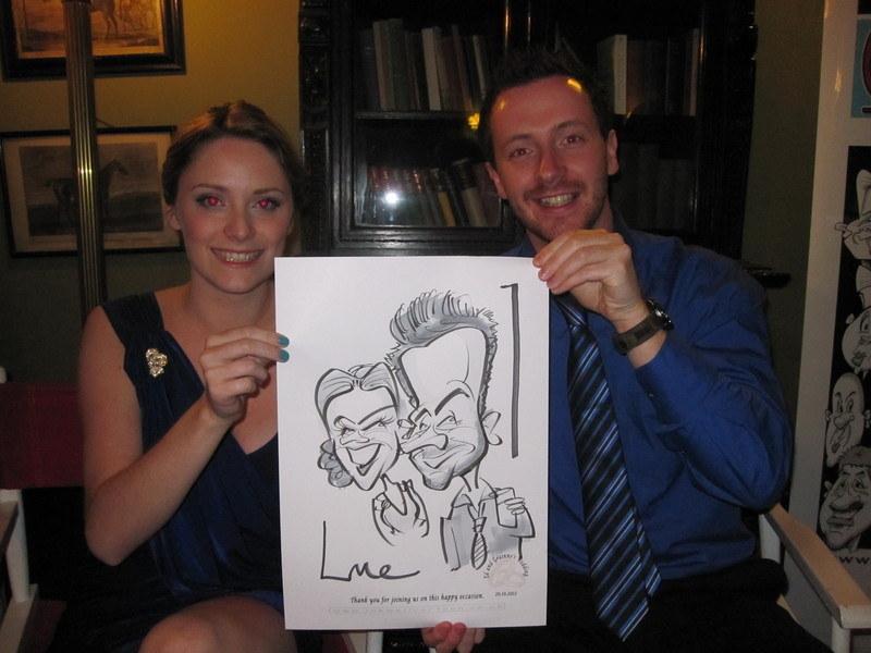 Live Caricature, Castle Leslie 2