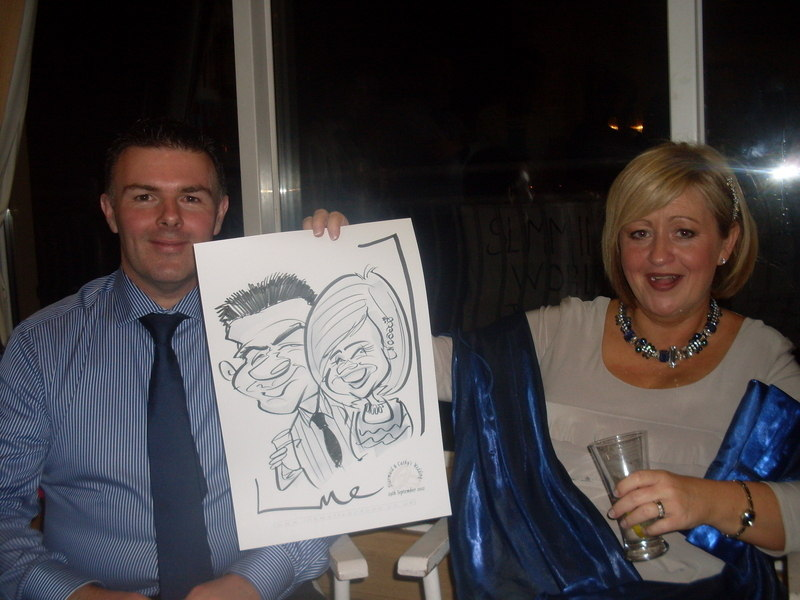 Live caricature Monaghan 2