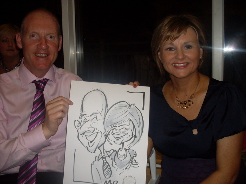 Live Caricature Monaghan 3