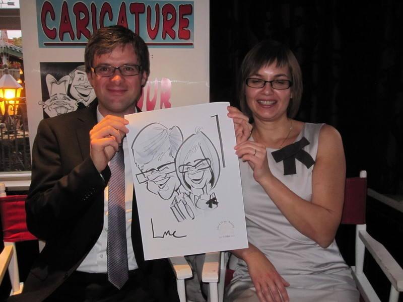 Live Caricature Crawfordsburn 1