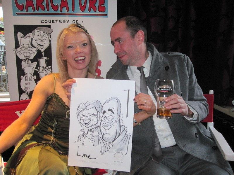 Live Caricature Crawfordsburn 2