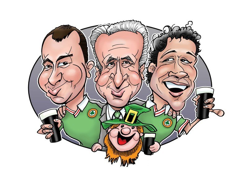 world cup caricature