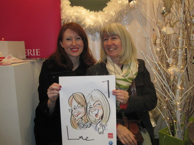 Colour Caricature Dunmurry 2