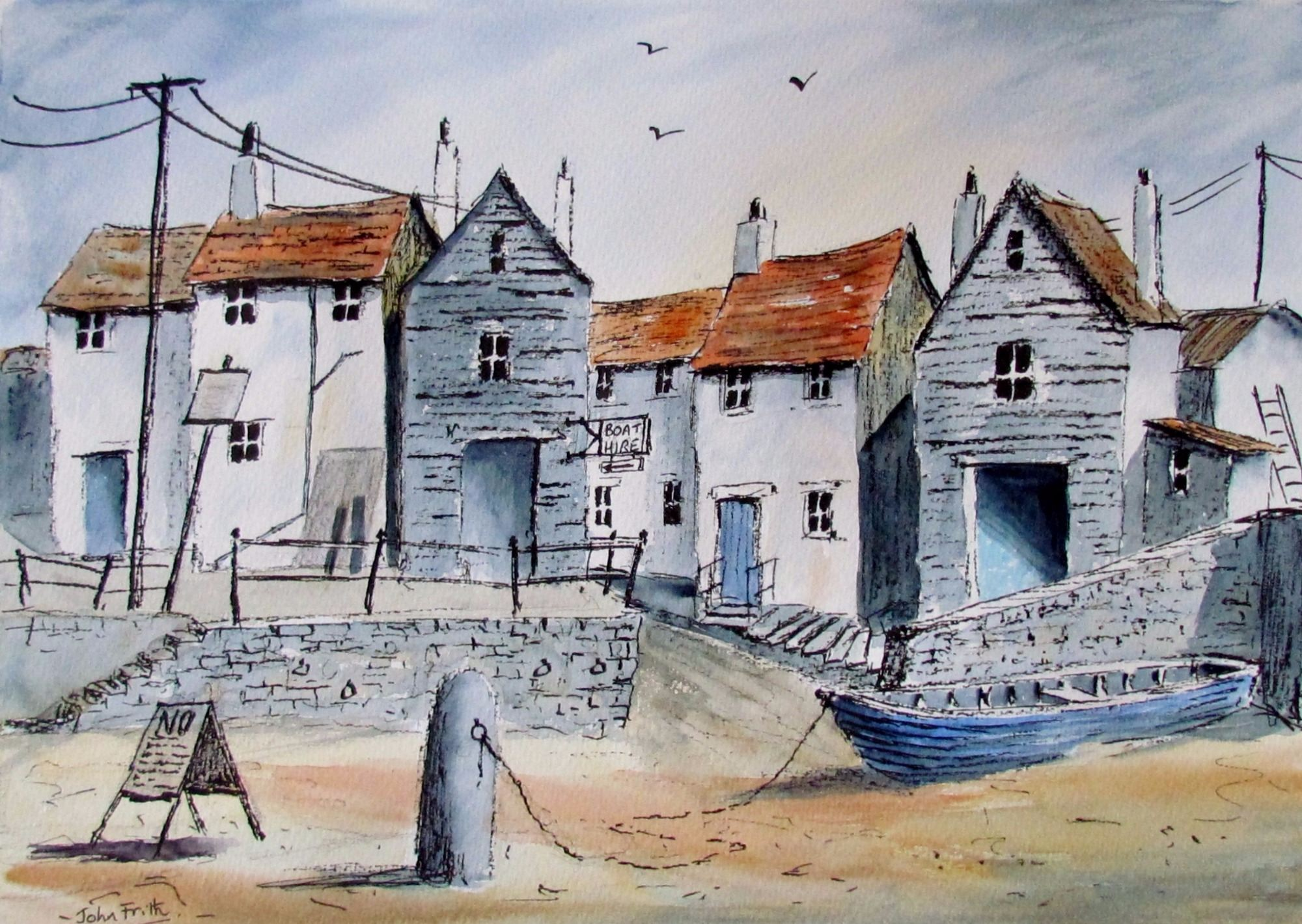 Cornish Fishing Port