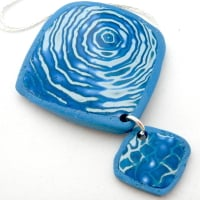 Blue Unique Pendant Gifts for Women