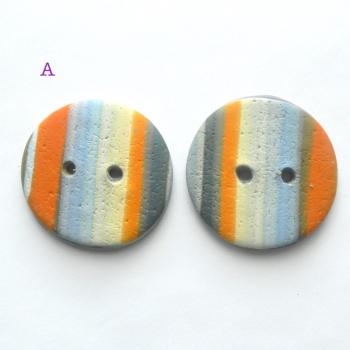 Orange Blue Stripe A