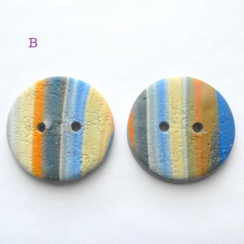 Orange Blue Stripe B
