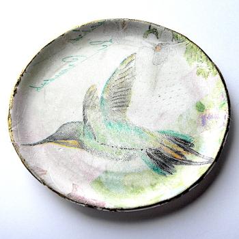 Jewellery Organiser, Hummingbird Accessory, Ring dish