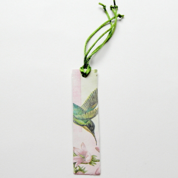 Bookmark, Bird Bookmark, Hummingbird Bookmark