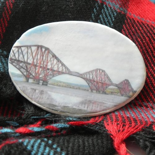 Scottish Brooch, Forth Rail Bridge