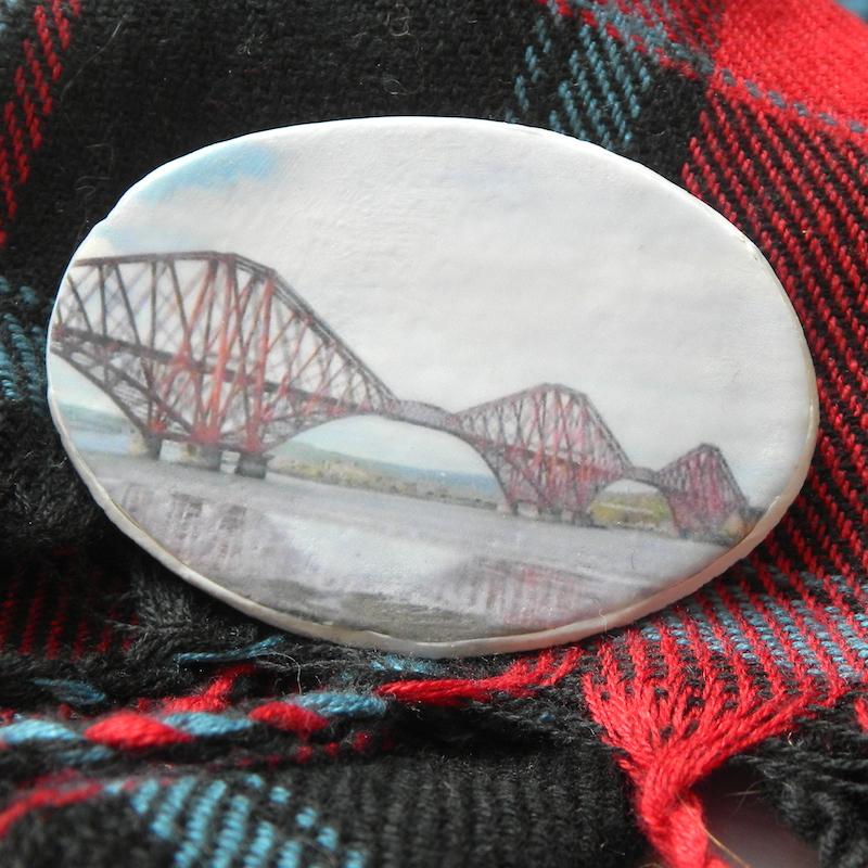Scottish Brooch, Forth Rail Bridge