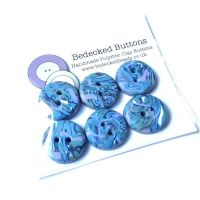 Small Buttons, Blue and Lilac Buttons