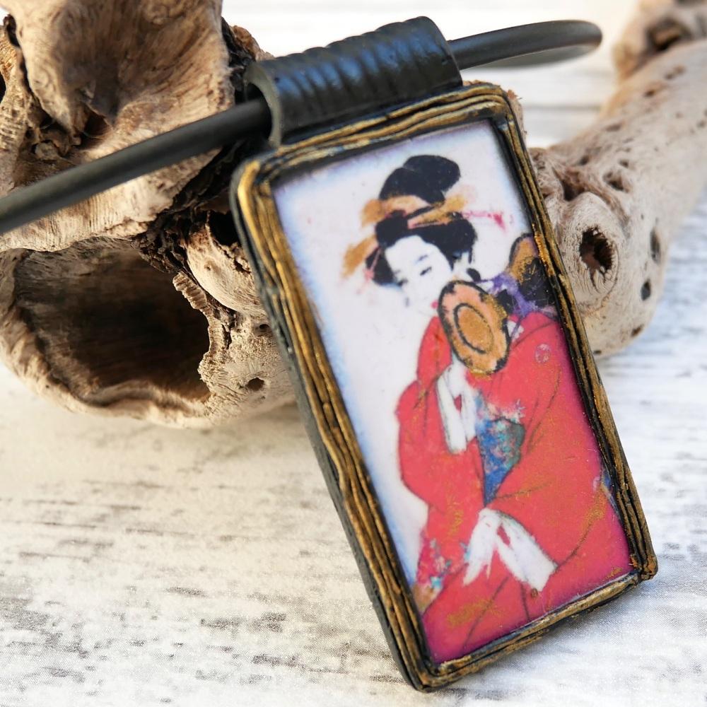 Geisha Necklace, Japanese Jewellery