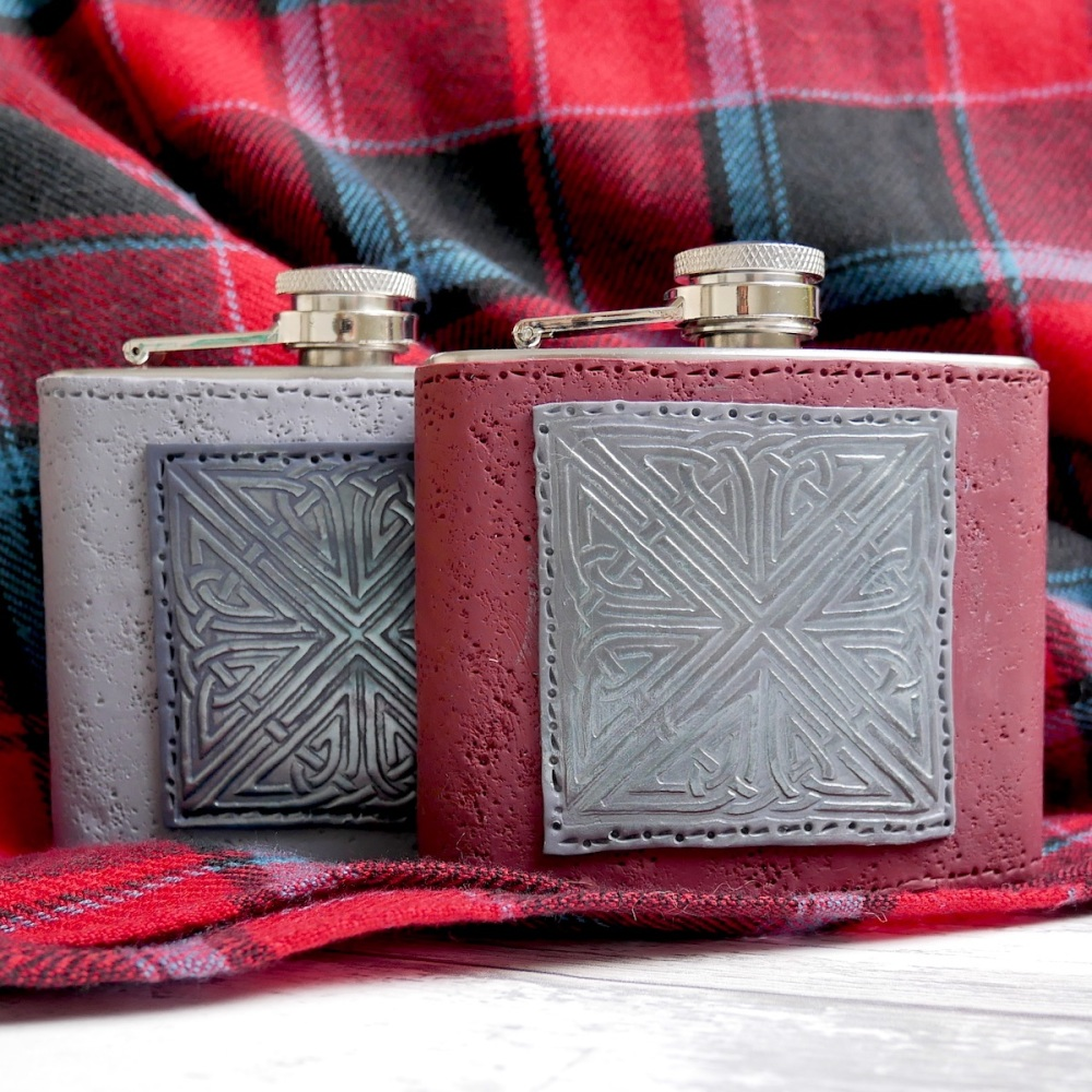 Hip Flask, Celtic Gift for Him