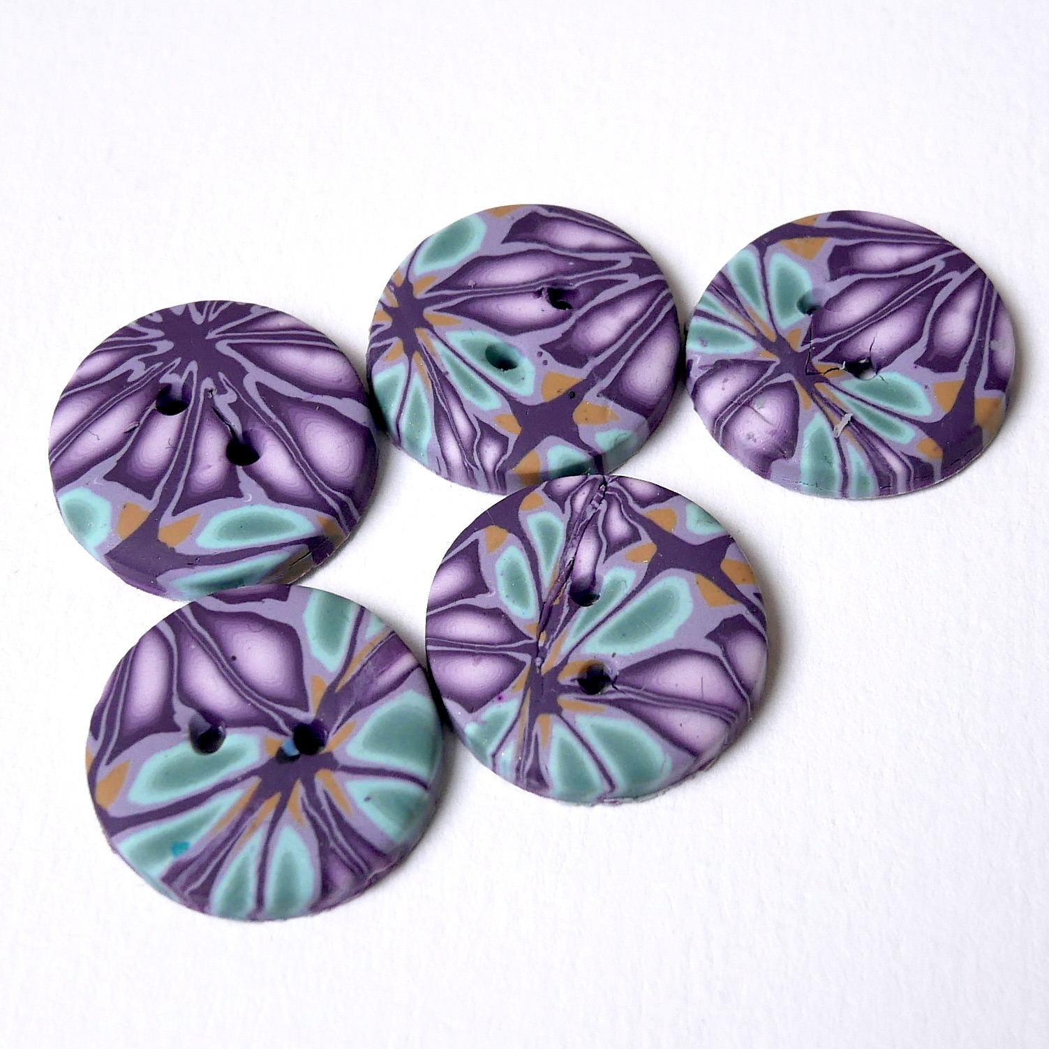Handmade Buttons, Unique Buttons