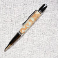 Brown and Blue, Quality Handmade Pen