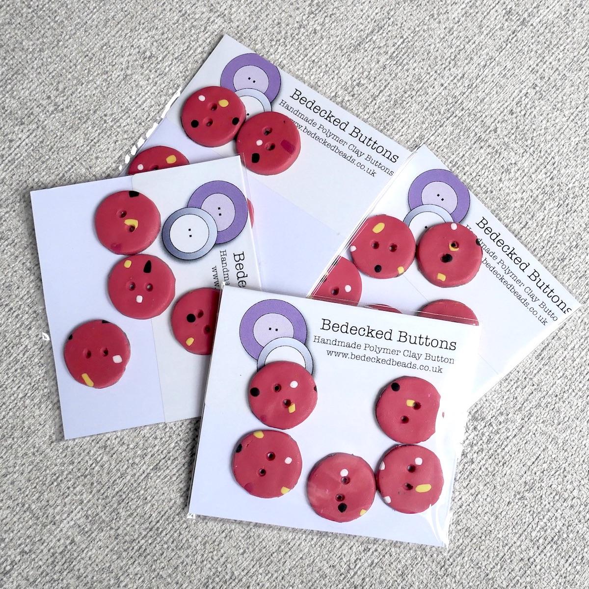 Handmade Buttpons, Dotty Buttons