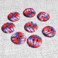 Red and Purple Buttons