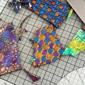 Polymer Clay Veneers-Bedecked Beads