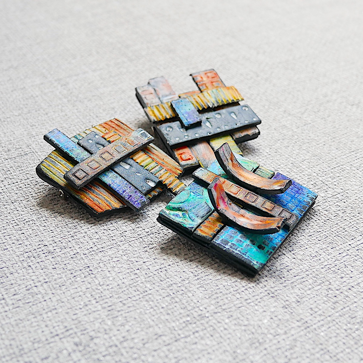 Unique Art Brooches, Artisan Jewellery
