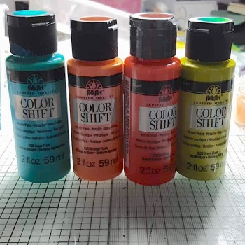 Color Shift Paints