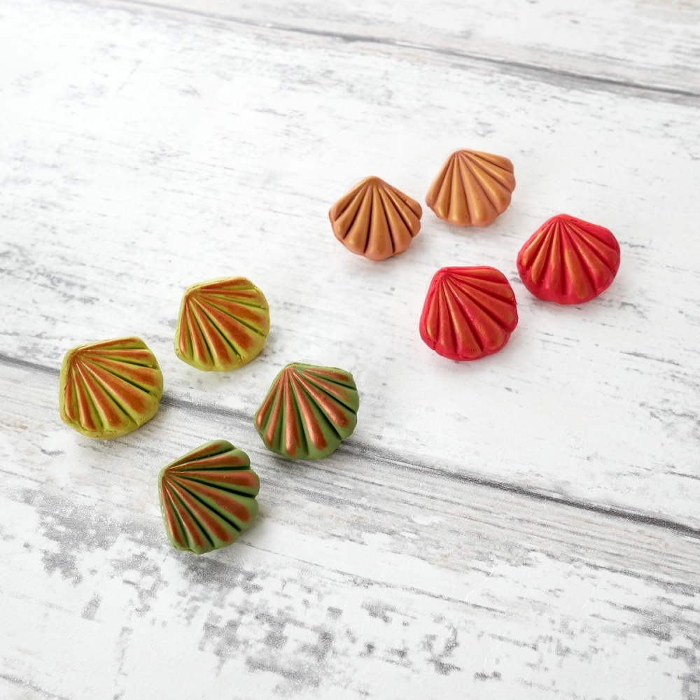 Shades of Autumn Stud Earrings