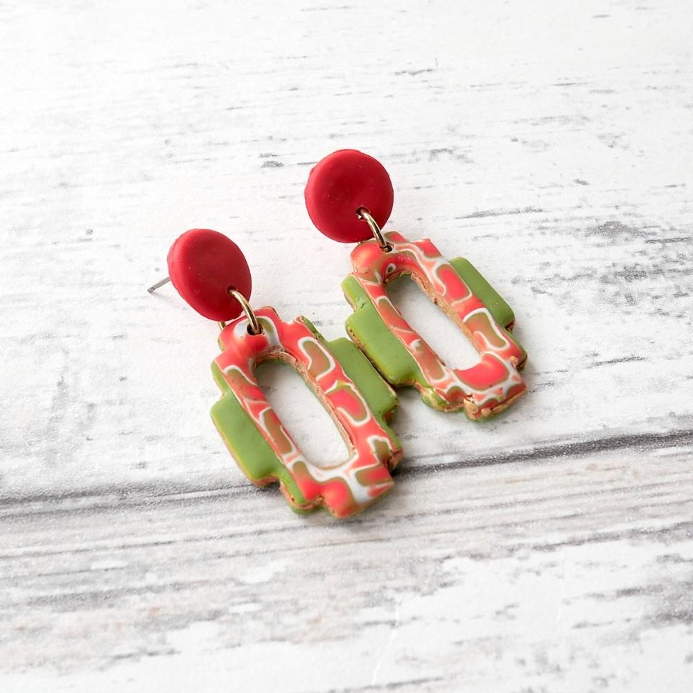 Morrocan Style Dangle Earrings