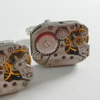 Unique Watch Movement Cufflinks