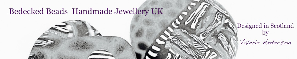 Bedecked Beads - Jewellery by Valerie Anderson, site logo.