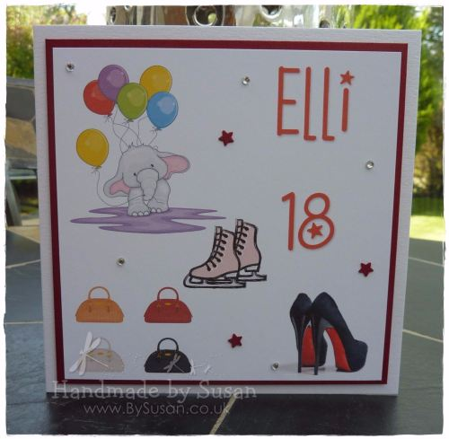 Bespoke 18th Birthday Card