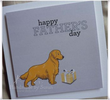 Happy Father's Day ~ Golden Retriever