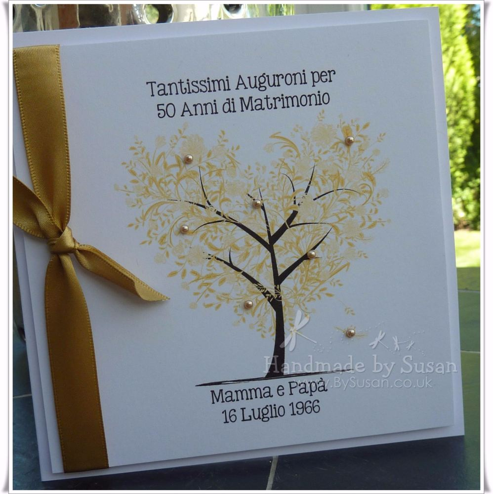 Golden Anniversary Tree