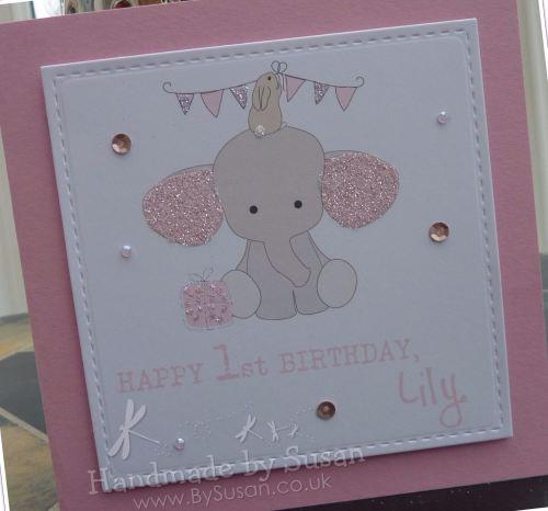 Girl Baby Elephant