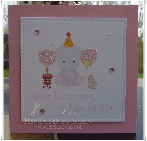 Cake Girl Baby Elephant