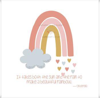 Rainbow 'a'
