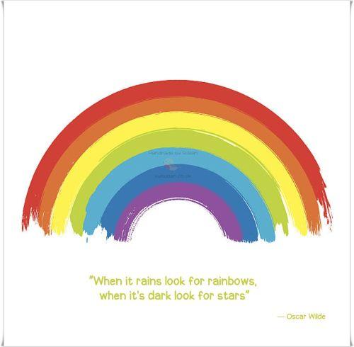 Rainbow 'c'