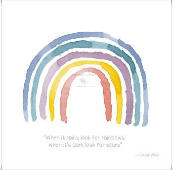 Rainbow 'b'