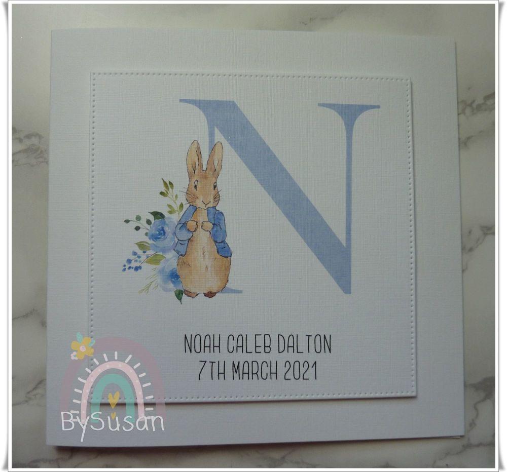 Monogram Bunny Baby