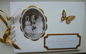 Golden Anniversary Memory/Guest Book