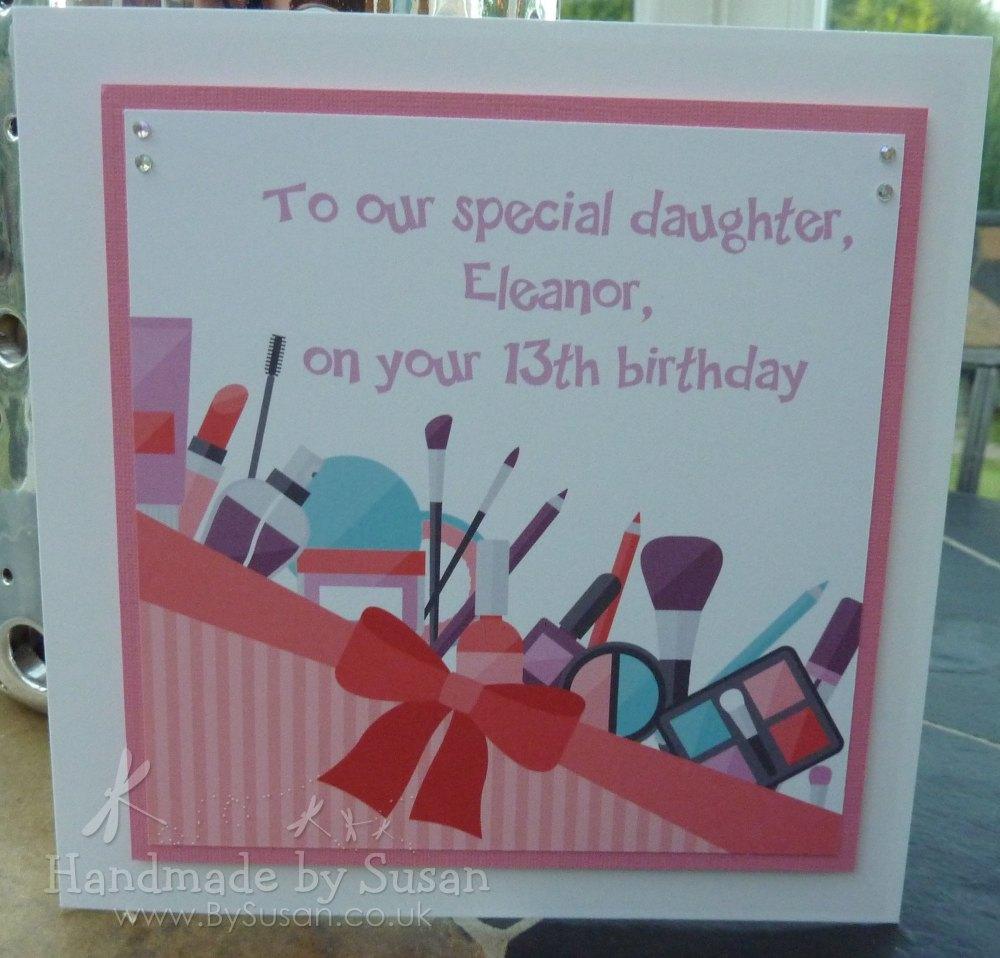 Cosmetics Birthday Card