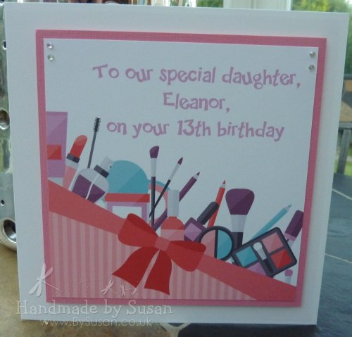 Cosmetics Birthday Card