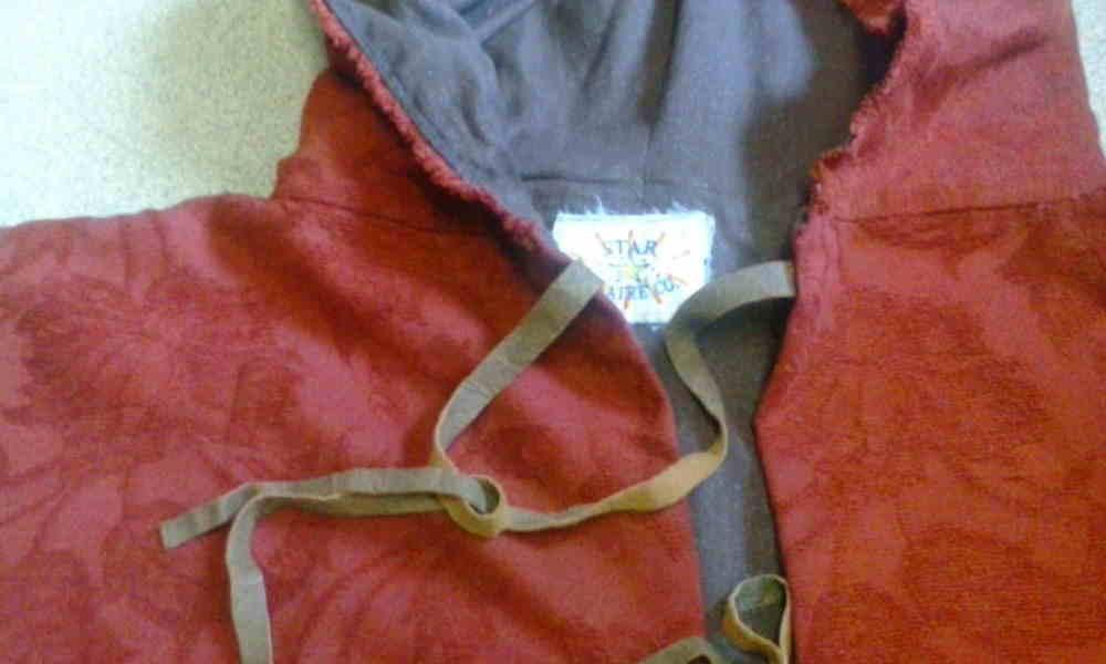 Woollen or Chenille Cloak
