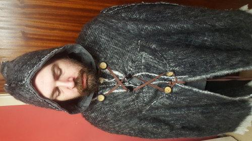 Mage Larp woollen cloak