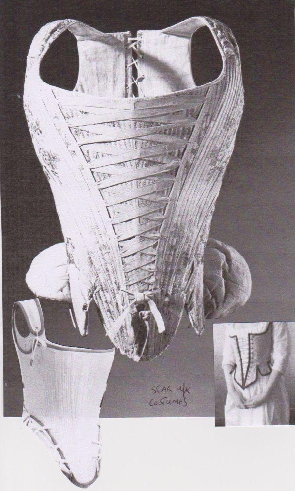 17th Century corset storyboard