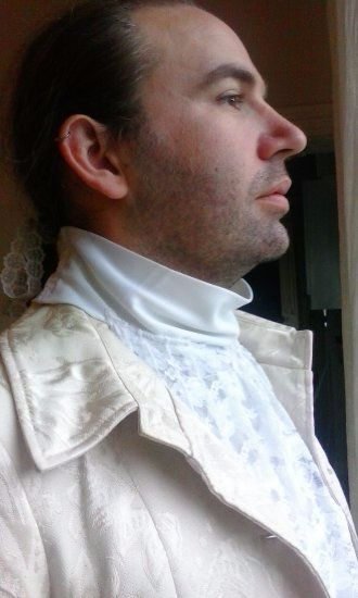 Commissioned Jabot/Cravat for various Historical periods