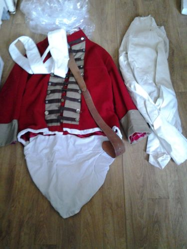 Redcoats Outfits to hire only