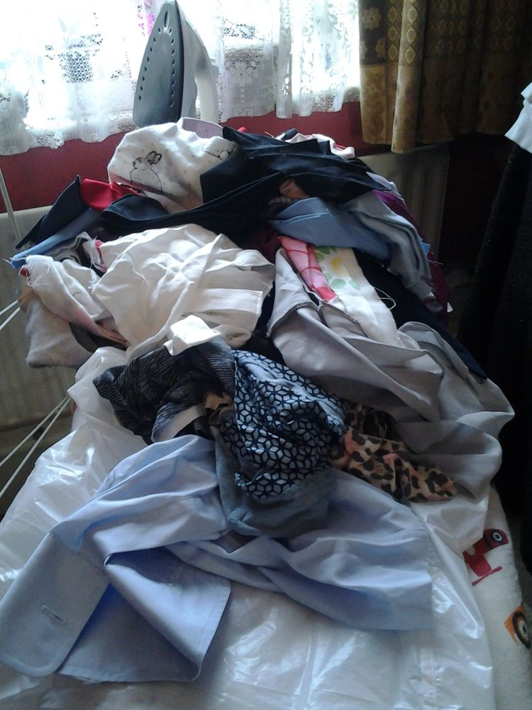 Mixed bag of fabric scraps