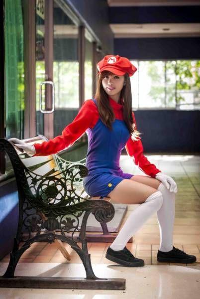 Female Mario from Mario Bros